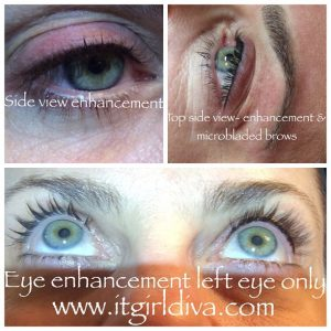 holly eye enhancement